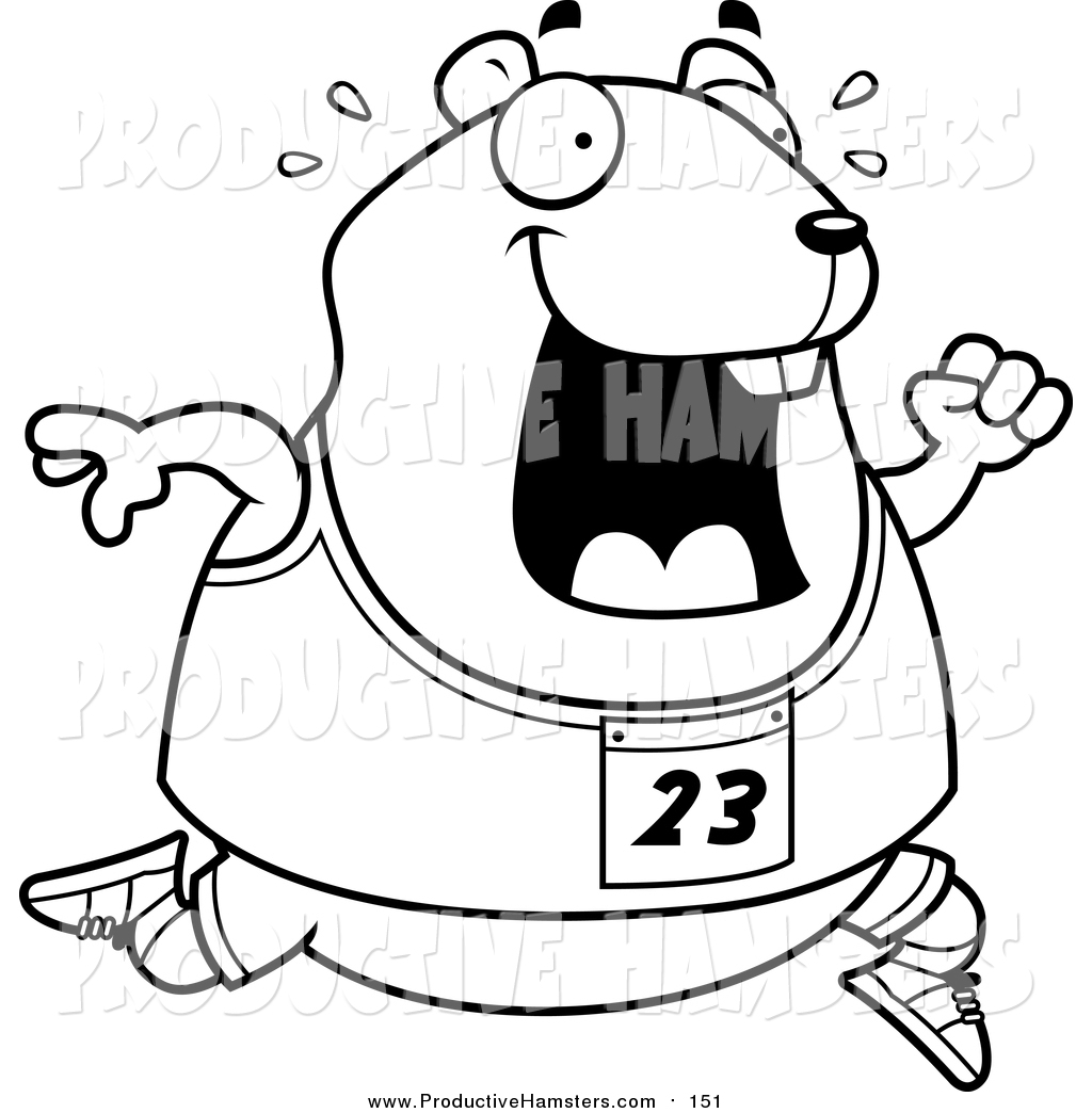 Royalty Free Stock Hamster Designs of Printable Coloring Pages
