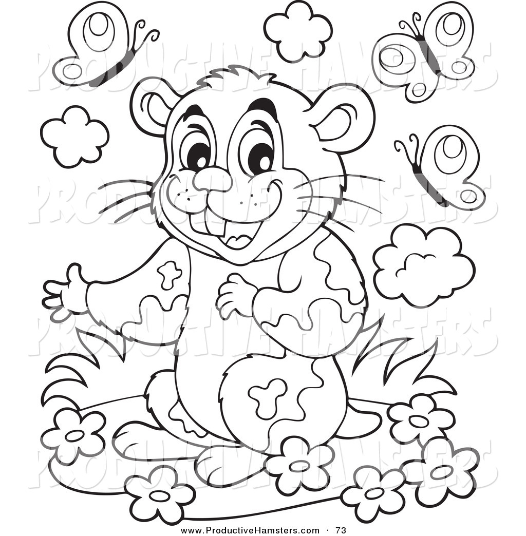 Free coloring pages hamsters - Free Coloring Pages Hamsters 58